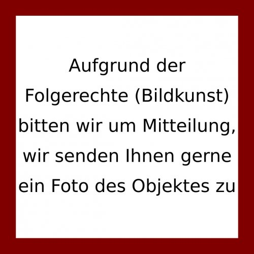 Koenig, Fritz. Bilderschrift. Kohle. 47 x 64 cm. Monogr.
