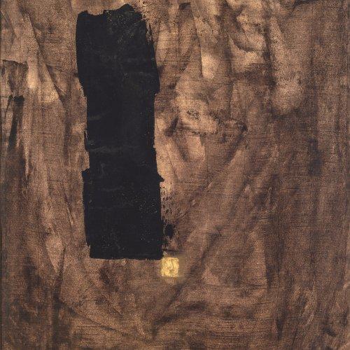 Gruchot, Heinz. Abstrakte Komposition. Mischtechnik/Papier. 49,5 x 35 cm. Sign., dat. 60.