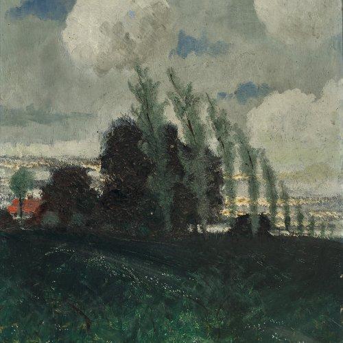 Strathmann, Carl, Frühlingswiese