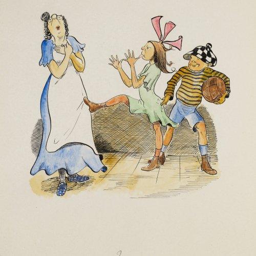 Hauber, Franz Ferry: Illustrationen zu