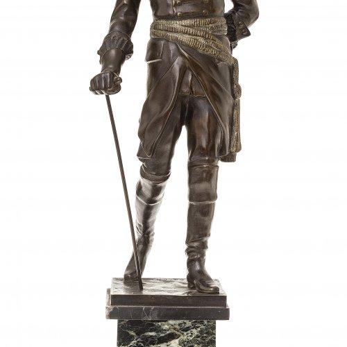 Kaesbach, Rudolf, Standfigur Friedrich des Großen, Bronze