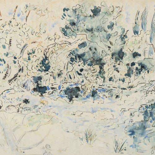 Mange, Jose: Abstrakte Komposition