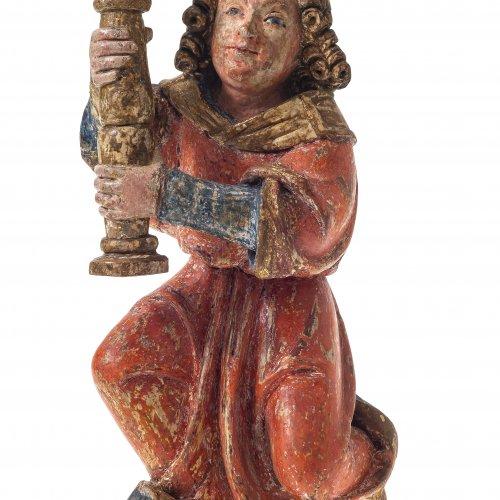 Leuchterengel, Schwaben um 1490