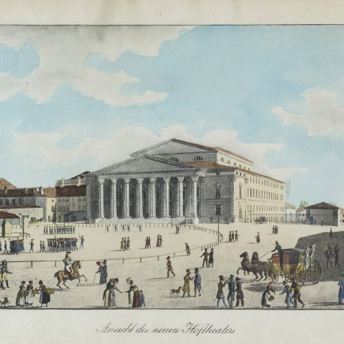Kraus, Gustav, Hoftheater in München.