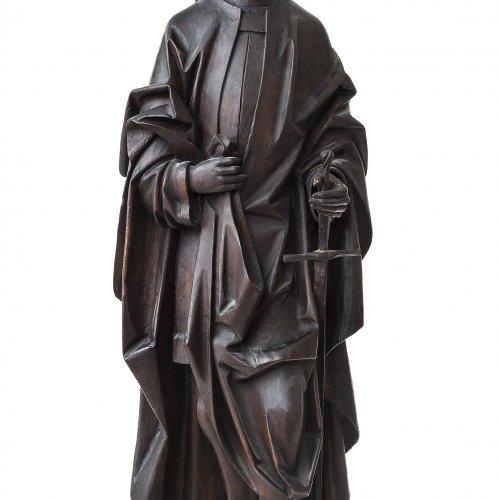 Erasmus Grasser, Werkstatt, Heiliger mit Krone und Schwert