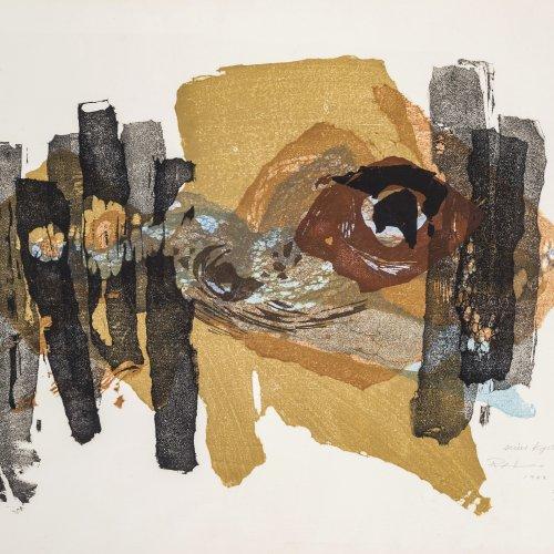 Takahashi, Yoshi, Abstrakte Komposition,