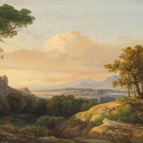 Marko, Carl II. Südliche Landschaft. Rest.