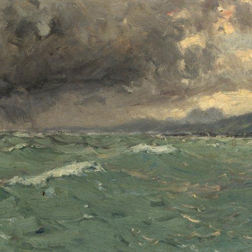 Schönchen, Leopold, bewegte See