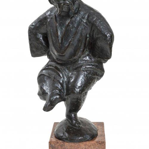 Kruk, Gregor, tanzender Kosak, H. 43 cm.