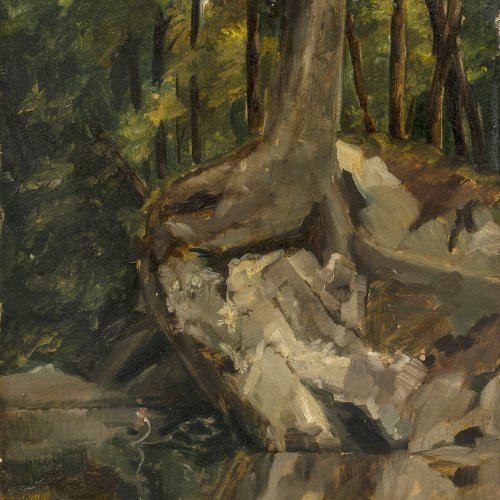 Willroider, Ludwig, Waldlandschaft