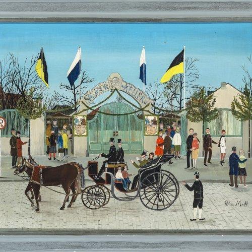 Moll, Petra, Salvator-Keller, Öl/Lw. 48 x 62 cm.