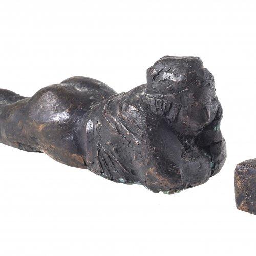 Horn, Christiane, Kleiner Feierabend, Bronze.