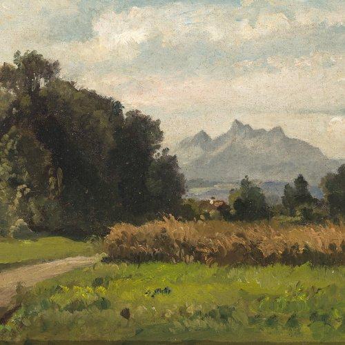Halberg-Krauss, Fritz. Oberbayerische Landschaft
